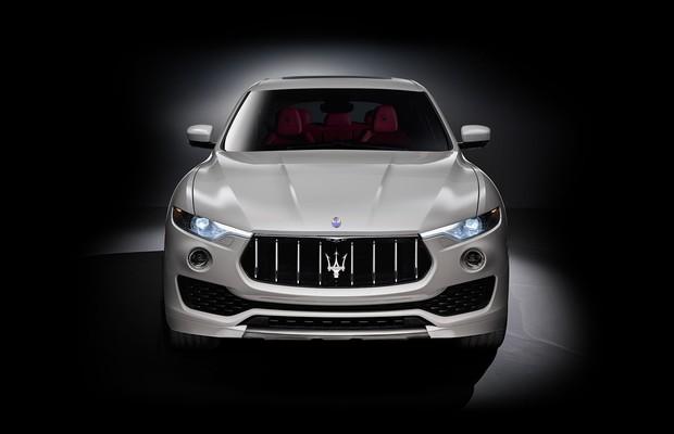 Maserati revela primeiras imagens do SUV Levante (Foto: Divulgação)