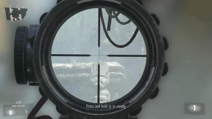 Call of Duty: Advanced Warfare: conheça os melhores esconderijos para jogar de Sniper (Foto: Reprodução/Murilo Molina)