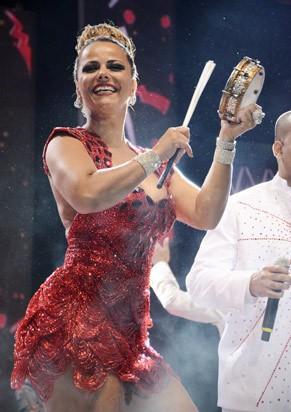 Viviane Araújo é a rainha do Salgueiro (Foto: TV Globo/Raphael Dias)