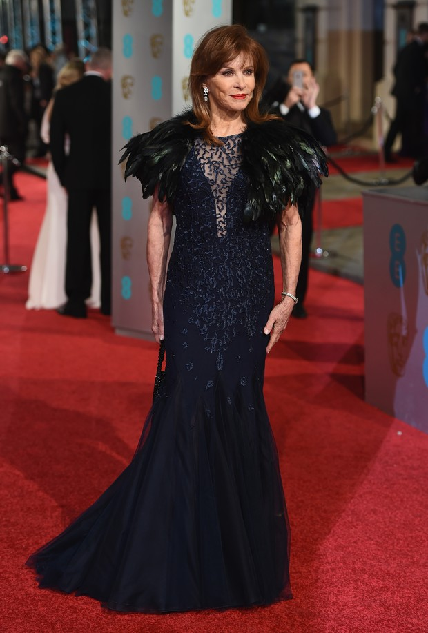 Stefanie Powers no BAFTA (Foto: Getty Images)