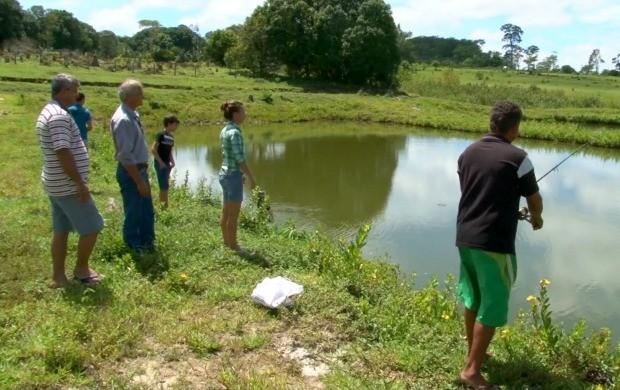 Produtores participam de curso de piscicultura em Cacoal (Foto: Bom Dia Amazônia)