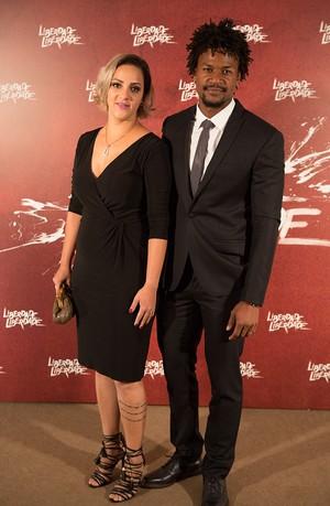 David é casado há 5 anos com Camila (Foto: Fabiano Battaglin / Gshow)
