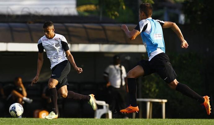 Geuvânio Santos (Foto: Ricardo Saibun / Divulgação Santos FC)