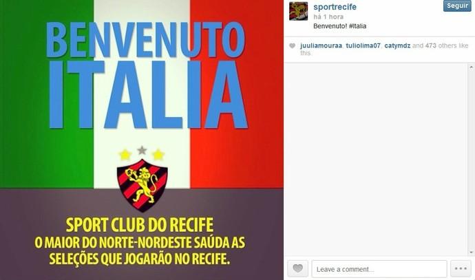 Itália - Sport (Foto: Reprodução/Internet)