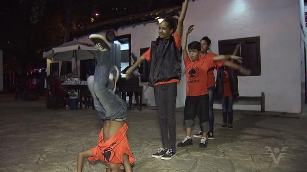 Grupo de hip hop Mov'in Force garante vaga em Campeonato Mundial (Foto: Reprodução/TV Tribuna)
