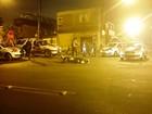 Perseguição termina com criminoso baleado e dois presos em Santos, SP