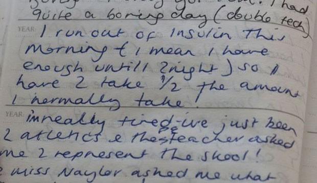 Tomando menos insulina, Lisa perdia mais peso (Foto: BBC/Arquivo Pessoal)