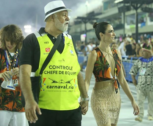 Luciana Gimenez com o filho (Foto: Anderson Borde/ Agnews)