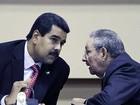 Maduro reafirma aliança entre Venezuela e Cuba