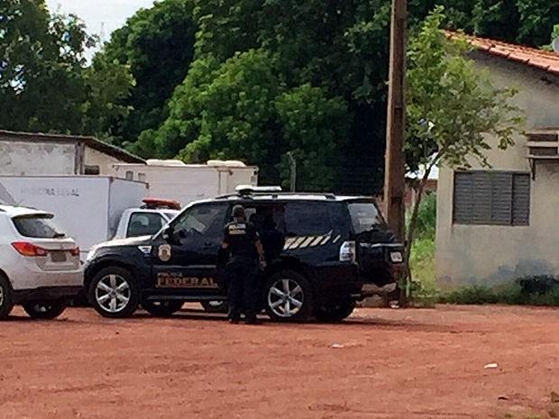 Operação Ararath em Mato Grosso (Foto: Cristina Mayumi/TVCA)