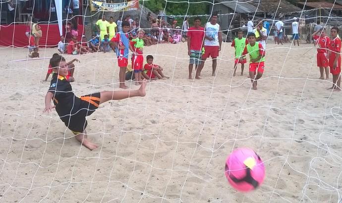 Ponta Negra também venceu o torneio infantil (Foto: Divulgação/Prefeitura de Paraty)