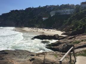 Praia da Joatinga (Foto: EGO)