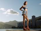 Juliana Boller, de 'Império', mostra como usar looks em jeans no verão