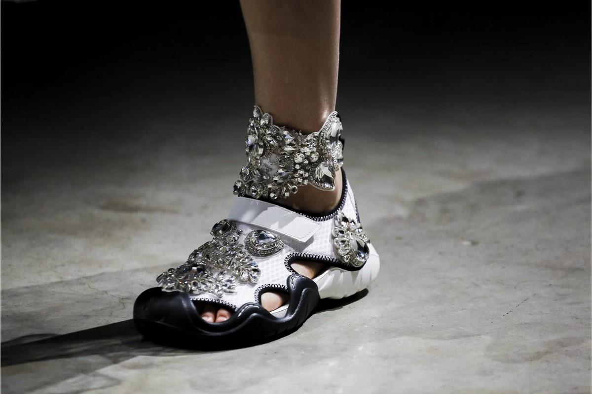 Crocs fashionistas: Christopher Kane (Foto: Divulgação)