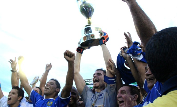 Nacional campeão 2014 (Foto: Isabella Pina)