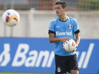 Matías Rodríguez Grêmio treino (Foto: Lucas Uebel/Grêmio)