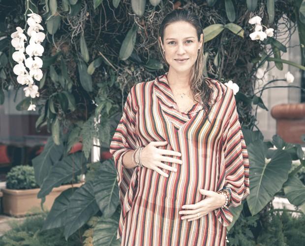Atriz contou como será o Dia das Mães em família (Foto: Fabiano Battaglin/Gshow)
