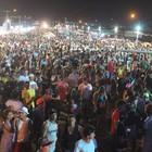 Carnaval reúne cerca de 10 mil foliões no litoral (Ellyo Teixeira/G1)