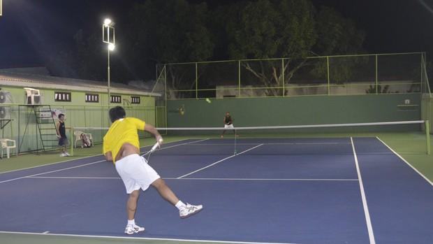 Duelos decidem campeões e finalistas do 4º circuito de tênis no AP (Foto: Jonhwene Silva/GE-AP)