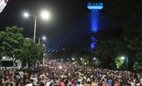 Travesti é baleada na cabeça durante o Corso do Zé Pereira de Teresina (Ellyo Teixeira/G1)