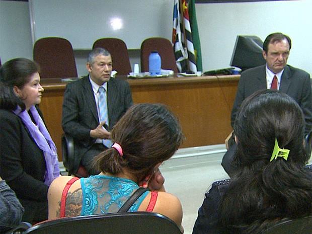 Paraguaias são ouvidas no Ministério Público em Ribeirão Preto, SP (Foto: César Tadeu/ EPTV)