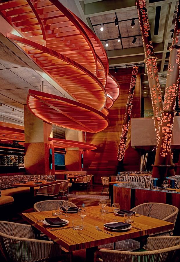 Restaurante Komodo (Foto: Divulgação, Talbot Lindsay e Eric Wolfinger)