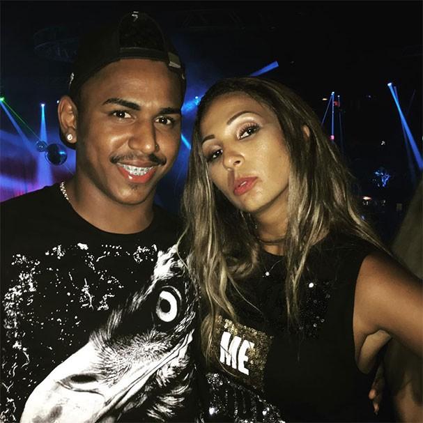 DJ Marlon da Biriri com Valesca Popozuda (Foto: Reprodução/Instagram)