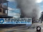 Protesto por melhorias no transporte fecha rodovia em Vitória