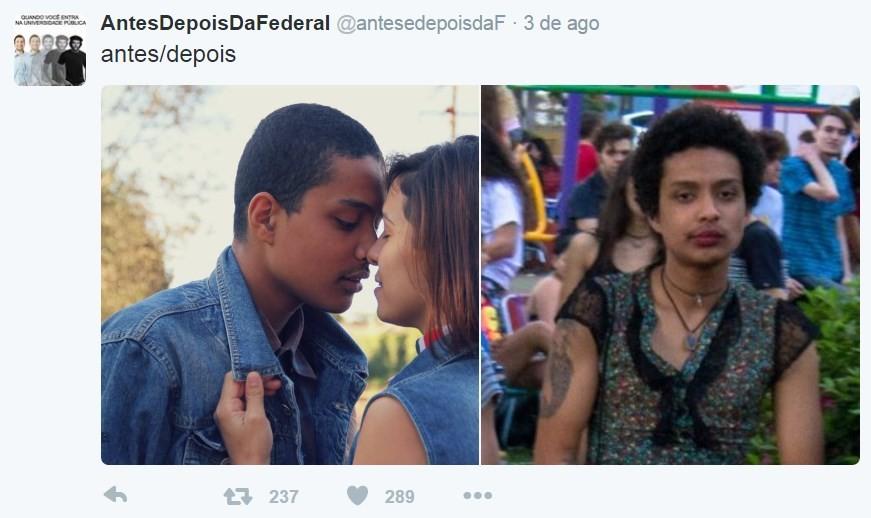 'Antes e depois da Federal'
