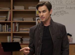 Matt Bomer mostrou suas habilidades como cantor e dançarino na série Glee (Foto: Divulgação / Reprodução)