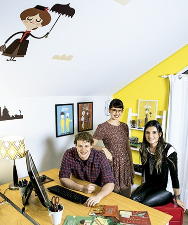 Mahani, Bruna e Gabriela (Foto: Fabiano Accorsi e Guilherme Pupo/Editora Globo)