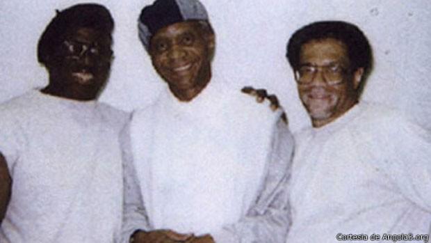 """Condenados ficaram, ao lado de um 3º detento, conhecidos como """"Os três de Angola"""" (Foto: Cortesia de Angola3.org)"""