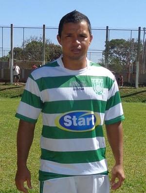 Carlos Antônio de Lima Tatu meia-atacante artilheiro Tocantins (Foto: Arquivo pessoal/Carlos Antônio)