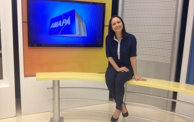 Apresentadora Aline Ferreira complentou 32 anos dia 27 de março (Foto: Jorge Abreu/Rede Amazônica)