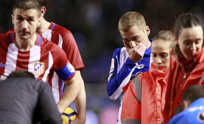 Bergantiños Fernando Torres Deportivo La Coruña Atlético de Madrid (Foto: Cabalar/EFE)