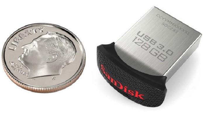 Pendrive Ultra Fit™ USB 3.0 de 128 GB (Foto: Divulgação/SanDisk)
