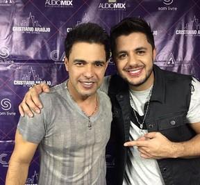 Zezé di Camargo e Cristiano Araújo (Foto: Reprodução/Instagram)