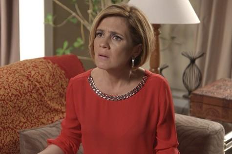 Adriana Esteves, a Inês de 'Babilônia' (Foto: TV Globo)