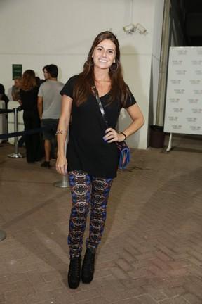 Giovanna Antonelli em show no Rio (Foto: Felipe Panfili/ Ag. News)