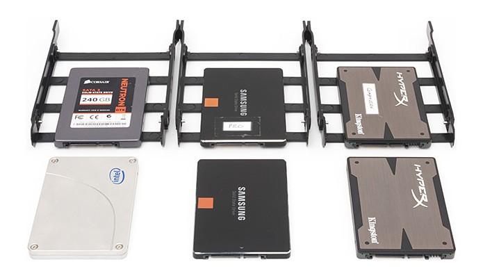 Seis modelos de SSD foram submetidos a gravações de dados extremas para testar confiabilidade (Foto: Reprodução/Tech Report)