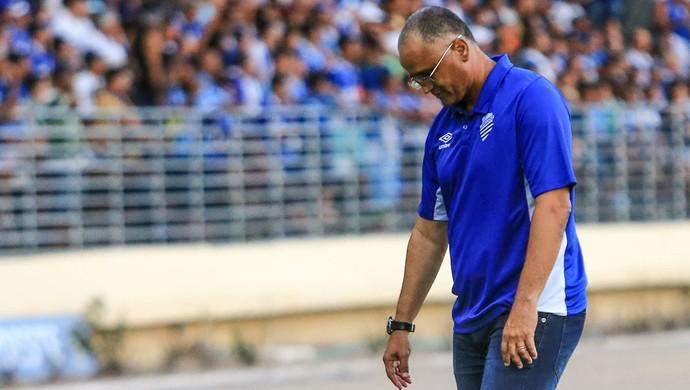 Oliveira Canindé, técnico do CSA (Foto: Ailton Cruz / Gazeta de Alagoas)