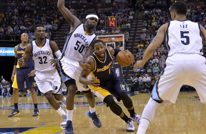 C.J. Milles Pacers x Grizzlies NBA - AP (Foto: AP)