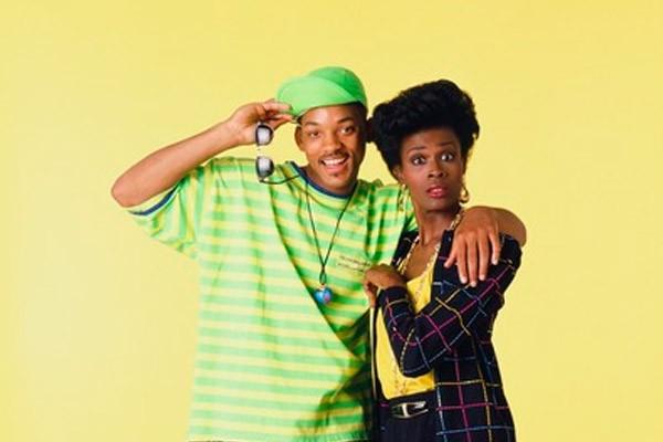 Will Smith e Janet Hubert em foto de divulgação de 'Um Maluco no Pedaço' (Foto: Divulgação)