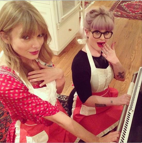 Taylor Swift e Kelly Osbourne (Foto: Reprodução/Instagram)