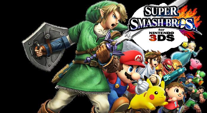 Super Smash Bros para o 3DS é a primeira versão do jogo de luta para portáteis (Divulgação/Nintendo)