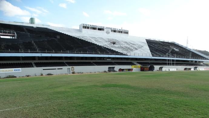 Estádio Lacerdão (Foto: Vital Florêncio / GloboEsporte.com)
