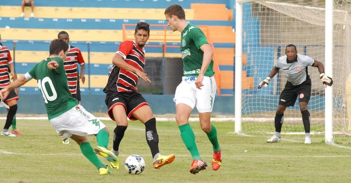 Guarani x Santa Rita-AL Copa do Brasil (Foto: Israel Oliveira / Guarani FC)