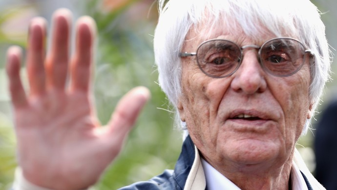 Bernie Ecclestone no México (Foto: Getty Images)