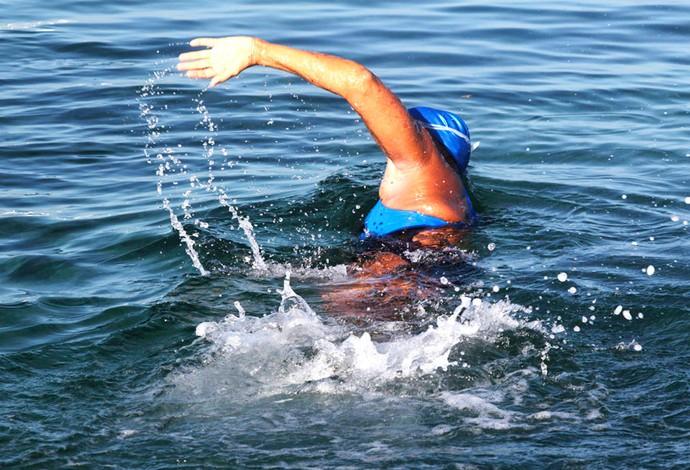 diana nyad Travessia Nadadora de 64 anos vai de Cuba à Flórida (Foto: Agência Reuters)