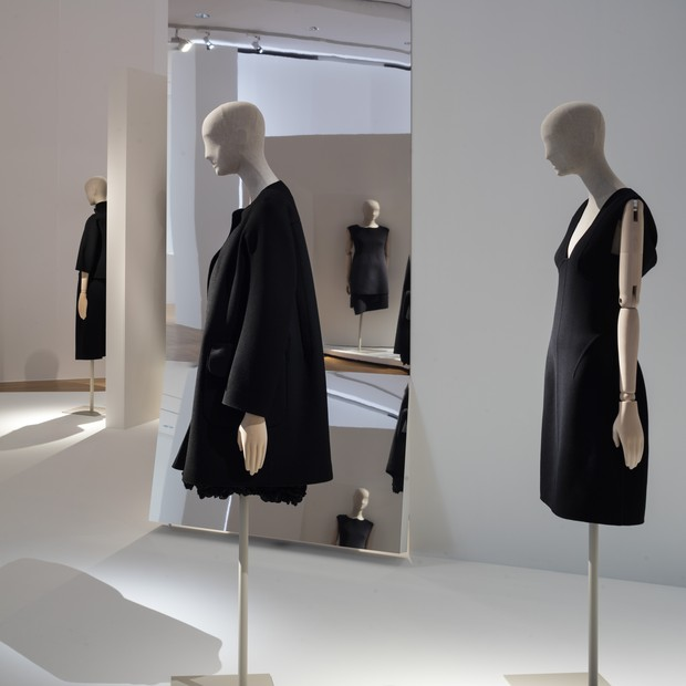 Recreations of classic Jil Sander designs at the designer's retrospective in Frankfurt (Foto: MUSEUM ANGEWANDTE KUNST)